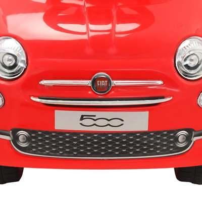 vidaXL Coche Correpasillos para Niño Fiat 500 Carrito Juguete Diversos Colores 6