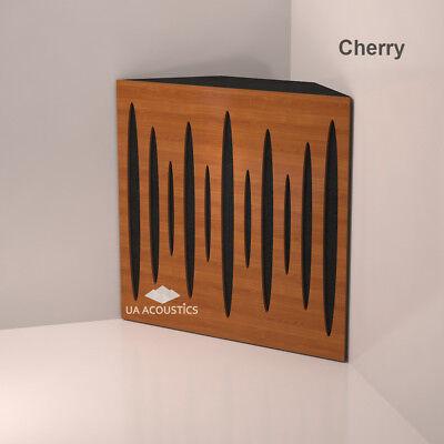 2pcs 50x50x10cm Corner Bass Trap, Acoustic Bass Trap, (front laminated wood) 4