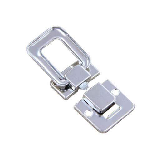 2//4 x Edelstahl Spannverschluss Kistenverschluss Kappenschloss für Schublade