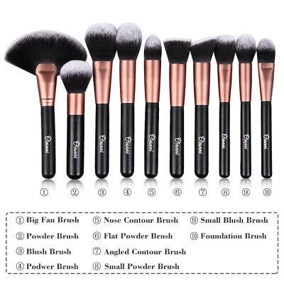 24 Professional Ovonni Makeup Brush Kit Set Cosmetic Make Up Beauty Brushes 6