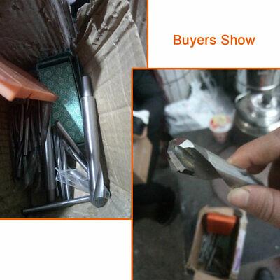 3-16mm Tungsten Carbide Tip Drill Bit TCT Twist For Stainless Steel Iron Cutting 8