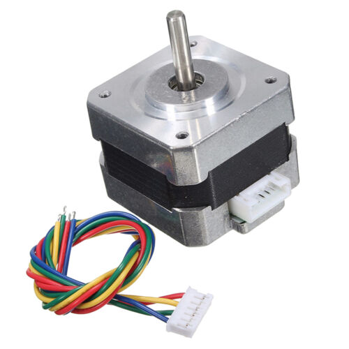 Metal Nema 17 Bipolar Stepper Motor 28N.cm 0.4A 12V 1.8° For CNC/3D Printer 6
