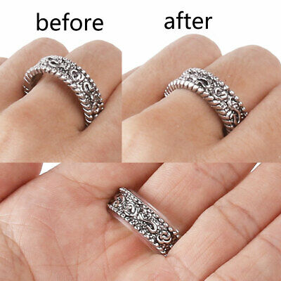 8 Sizes Silicone Invisible Ring Size Reducer Adjuster Ring Sizer Fit Any Rings 4