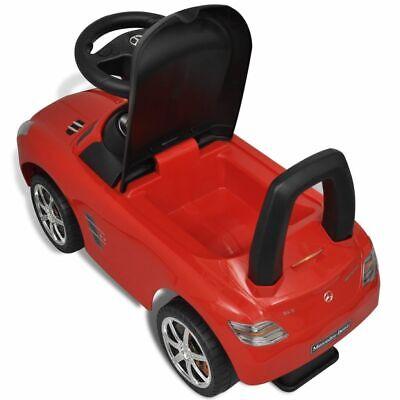 vidaXL Coche Correpasillos de Niños Mercedes Benz Rojo Coche Infantil Juguete 8