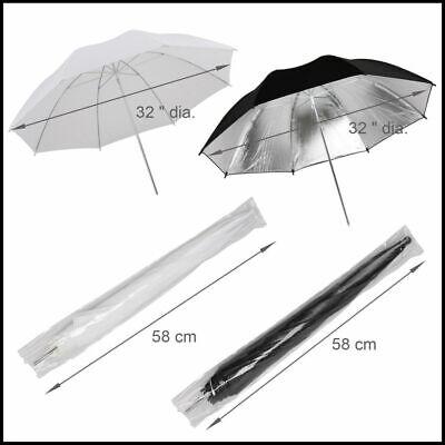Photography Studio Backdrop Soft Umbrella Lighting Kit +Background Support Stand 8