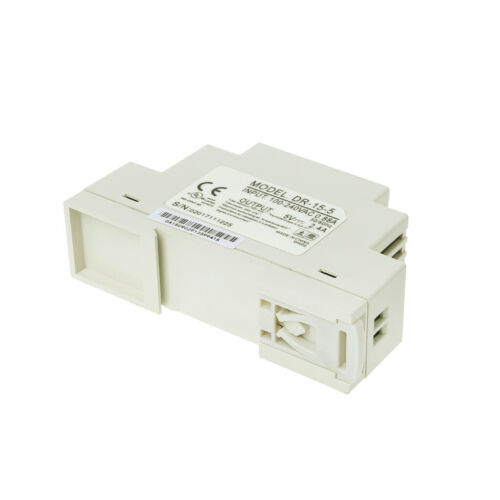 DR-15W Industrial DIN Rail Switching 5V 12V 15V 24V Power Supply 4