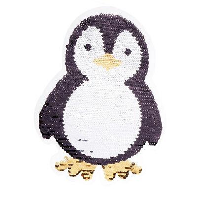 Pinguin 2,9 cm 4,1 cm Bügelbild Aufnäher Applikation Pinguine Antarktis Vogel