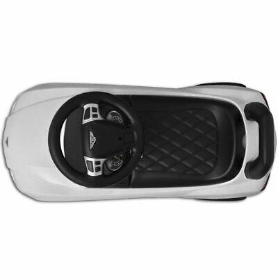 vidaXL Coche Correpasillos para Niños Bentley Blanco Auto Infantil de Juguete 3