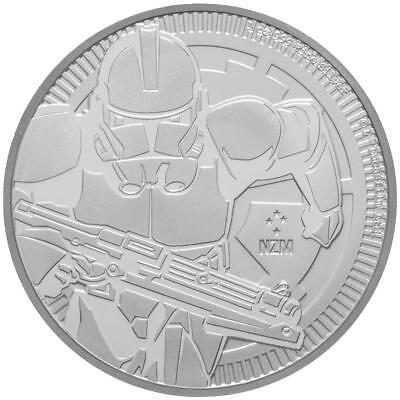 Niue 2 Dollar 2019 Klonkrieger™ Star Wars™ Anlagemünze 1 Oz Silber ST