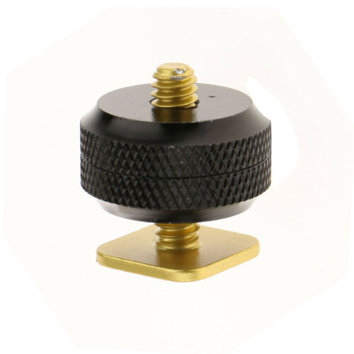 """Camera Hot Shoe Mount to 1/4""""-20 Tripod Screw Adapter Mount for DSLR Cameras 2"""