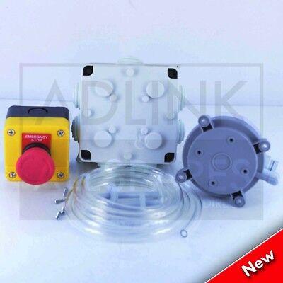 "Commercial Kitchen Gas Interlock Kit 1"" Gas Solenoid Valve & 28Mm Adaptors 3"
