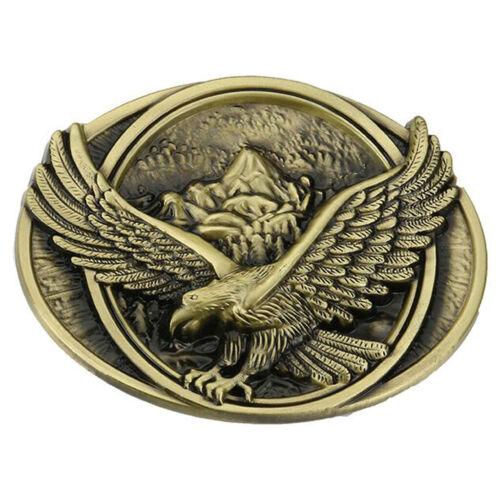 American flag eagle metal alloy fashion Men Belt Buckle J WesternstyleNew U.S.A