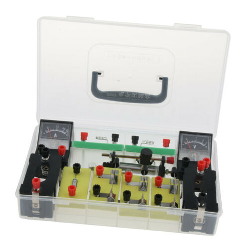 Physics Science Basic Circuit Electricity Classroom Experiment Learning Kit. 6