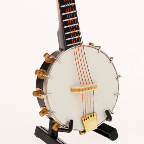1/6 Soldier Scenario Accessories Decorations Metal Instruments Banjo Toys 3