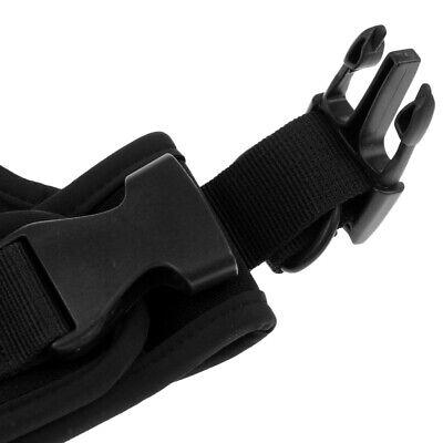 Einstellbare Tauchwerkzeuge Neoprenscheide Holster Tech Tauchausrüstung Schwarz