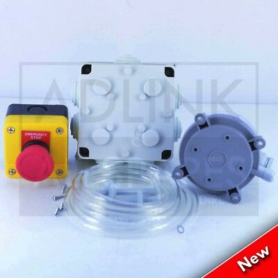 """Gas Interlock Minder System with Gas Solenoid Valve 2"""" BSP (50mm) 3"""