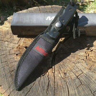 """8"""" TACTICAL COMBAT FULL TANG Survival HUNTING KNIFE Bowie Military Fixed Blade 3"""