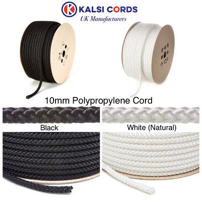 Polypropylene Rope Braided Poly Cord Strong String Boating Camping Sailing Yacht 11