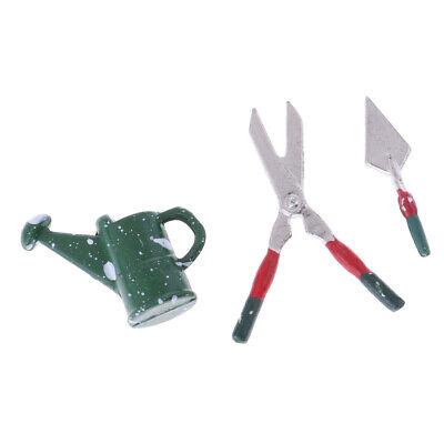 3P//Set 1:12 Dollhouse miniature outils de jardin semblant enfants jouer jouet