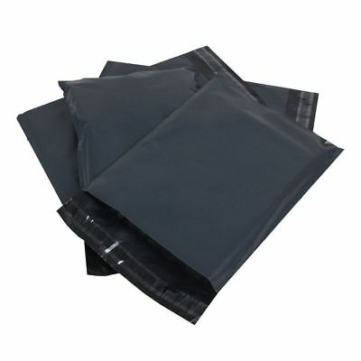 "Strong Grey Packaging Mailing Bags Postal Postage Self Seal Poly Sacks 4.5"" x 7"""