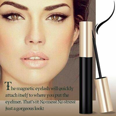 Magnetic Eyeliner Liquid & Lashes Kit - Set of 3 Mink Eyelashes Natural Long UK 5