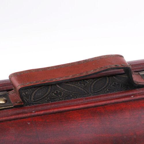 Wine Storage Box Vintage Display Decor Wood Wine Box Storage with Metal Lock