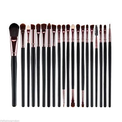 20pcs Makeup BRUSHES Kit Set Powder Foundation Eyeshadow Eyeliner Lip Brush NEW 7