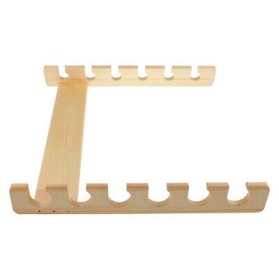 Angelrutenhalter Holz Buche bis zu 4 Ruten Angelruten Wandhalter
