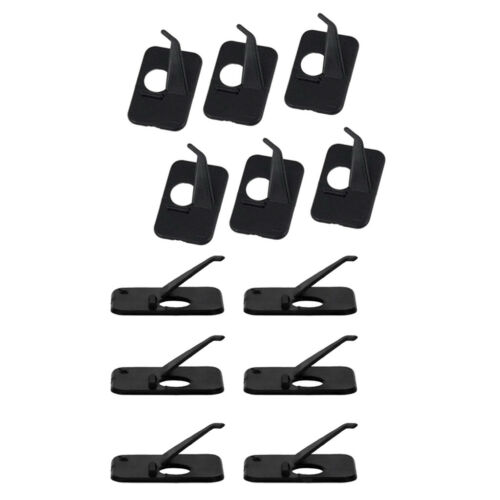 6pcs Hunting Shooting Archery Recurve Bow Adhesive Arrow Rest Right Hand