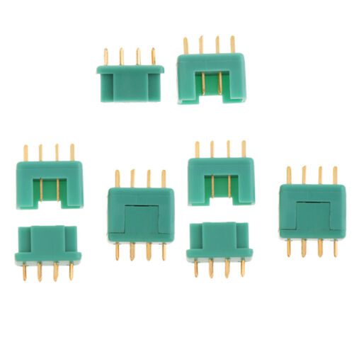 OliYin 20 Pairs MPX Multiplex Connectors 6 Pin MPX Plug Male and Female for RC LiPo Battery ESC Motor