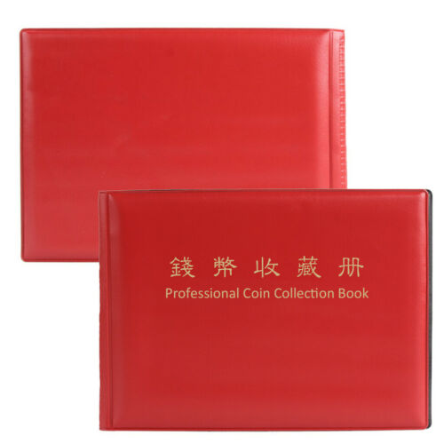 240 Collection Storage Penny Pockets Money Album Book Collecting Coin Holders 2