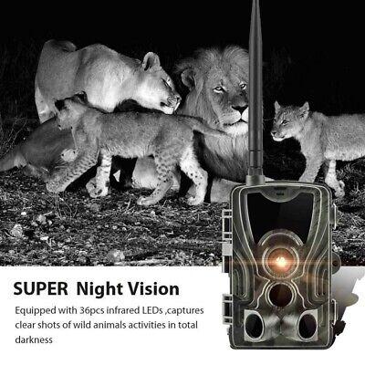 1080P Caméra de Chasse Caméra de Surveillance IR HD Nuit Vision GSM/MMS/SMTP/SMS 9