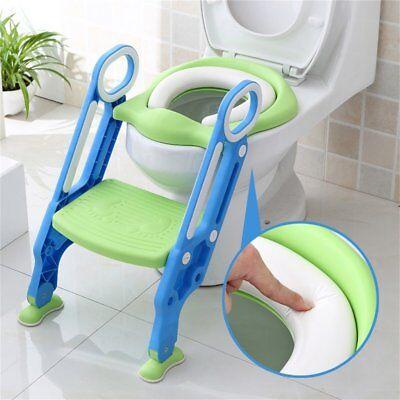 Bébé Formation Siège de Toilette échelle marches pliable Enfant WC Pot éducatif 7