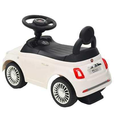 vidaXL Coche Correpasillos para Niño Fiat 500 Carrito Juguete Diversos Colores 11