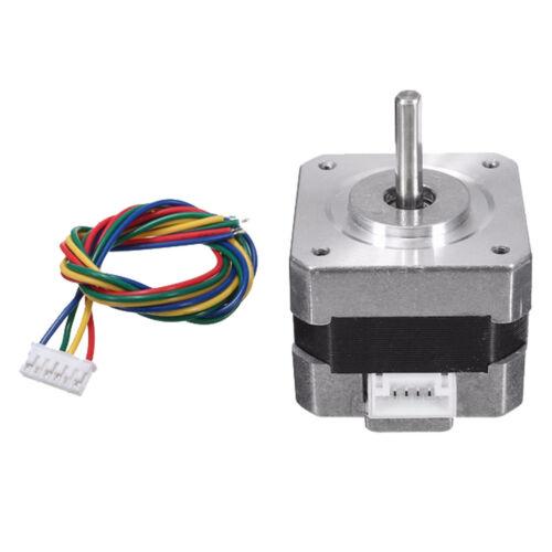 Metal Nema 17 Bipolar Stepper Motor 28N.cm 0.4A 12V 1.8° For CNC/3D Printer 9