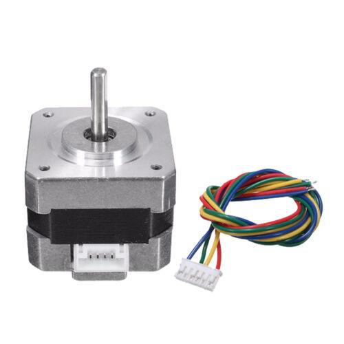 Metal Nema 17 Bipolar Stepper Motor 28N.cm 0.4A 12V 1.8° For CNC/3D Printer 5