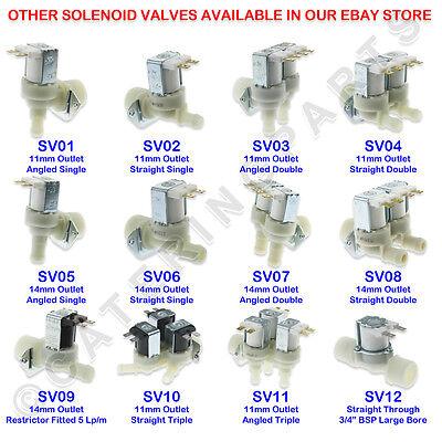 Burco 082634066 240V Inlet Solenoid Valve For Water Boiler 10L 20L 3L 7.5L 15L 2