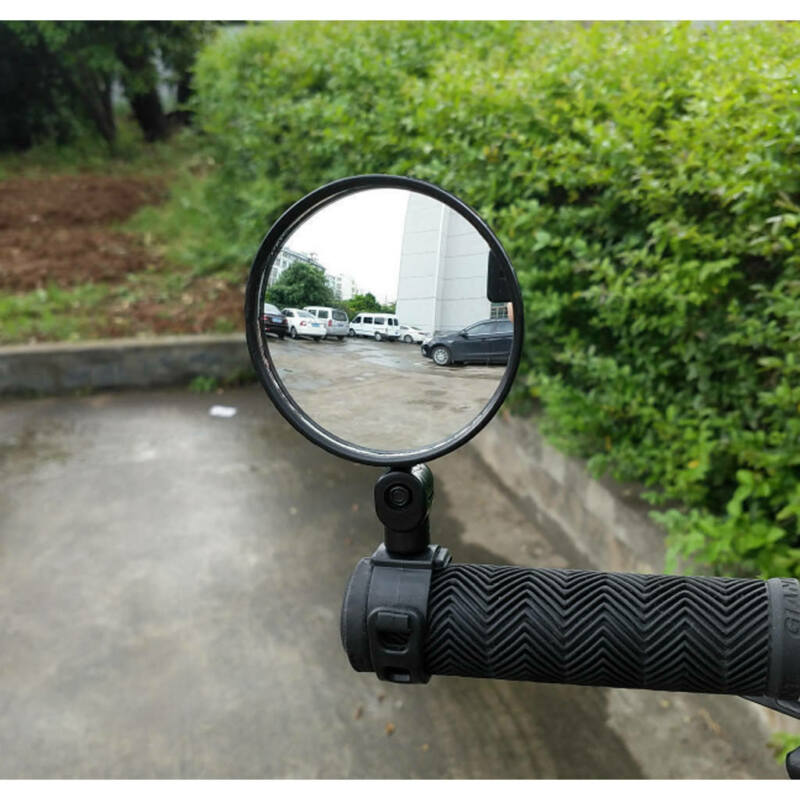 Cycling Bike Bicycle Handlebar Flexible Safe 360° Rearview Rear View Mirrors NEW 4