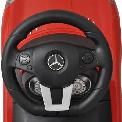 vidaXL Coche Correpasillos de Niños Mercedes Benz Rojo Coche Infantil Juguete 6