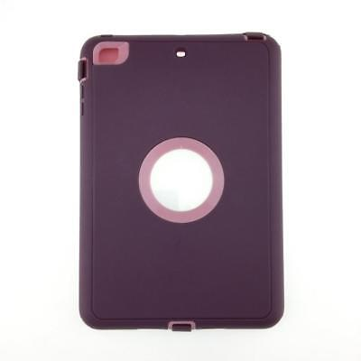 iPad 2 3 4 Air 2 & MINI Defender Case Shockproof Cover Built-in Screen Protector 7