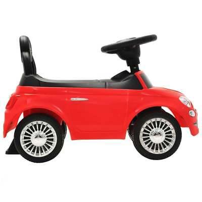 vidaXL Coche Correpasillos para Niño Fiat 500 Carrito Juguete Diversos Colores 5