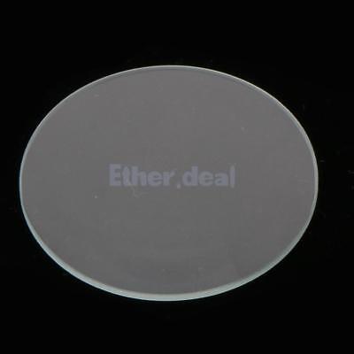 10 x 31.5mm Flache Uhr Kristall Mineralglas für Wasserdicht Quarz-Armbanduhr
