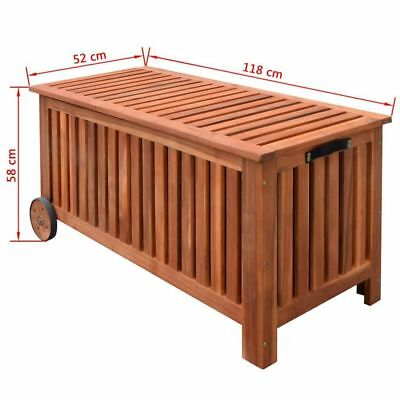 PANCA PANCHINA CON ruota in legno per esterno giardino cucina terrazza