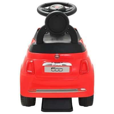 vidaXL Coche Correpasillos para Niño Fiat 500 Carrito Juguete Diversos Colores 4