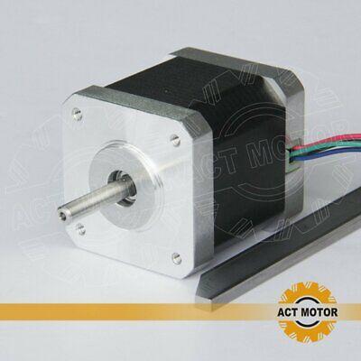 DE Free 3PCS Nema17 Schrittmotor 17HM5417 1.7A 48mm 0.9°  Φ5mm 60oz-in  Bipolar 3