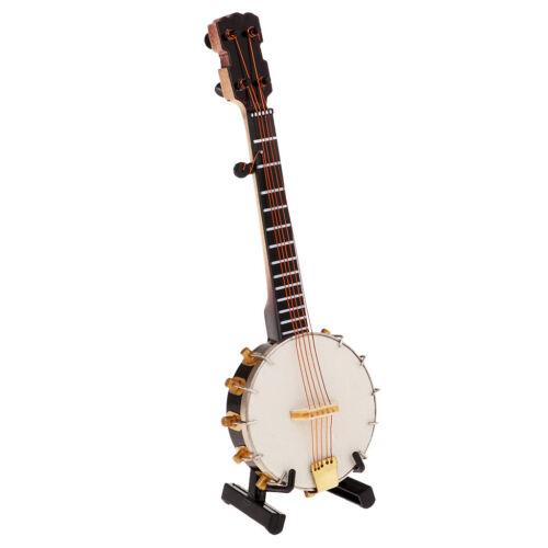 1/6 Soldier Scenario Accessories Decorations Metal Instruments Banjo Toys 11