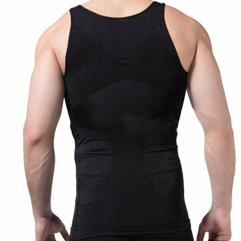 a776381c4 Men Slim Shirt Body Shaper Vest Fashion Compression Tank Top Corset Weight  Loss 10 10 of 12 See More