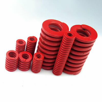 22mm OD Red Medium Load Compression Stamping Mould Die Spring 11mm ID All Sizes 7