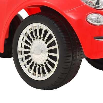 vidaXL Coche Correpasillos para Niño Fiat 500 Carrito Juguete Diversos Colores 8