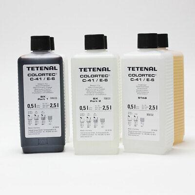 Tetenal Colortec C-41 Negative Rapid 2 Bath Kit 2.5L 2